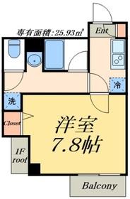 デュオメゾン東京スカイツリー2階Fの間取り画像