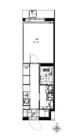 リヴシティ大泉学園3階Fの間取り画像