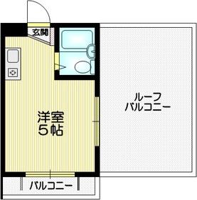City House4階Fの間取り画像