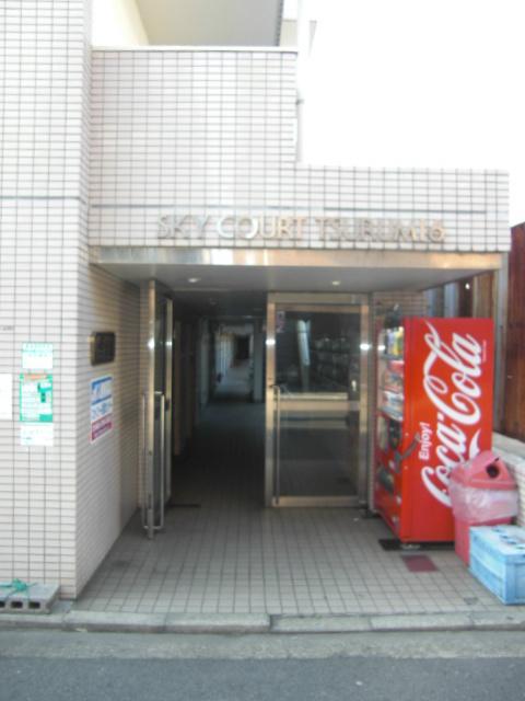 スカイコート鶴見6エントランス