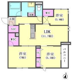 仮)下丸子1丁目シャーメゾン 202号室