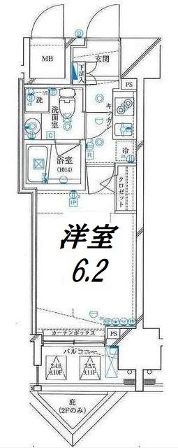 ライズコート東京イースト間取図