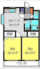 すみれマンション3階Fの間取り画像