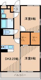 コンフォール瑞江Ⅵ1階Fの間取り画像