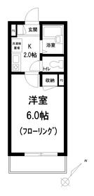 アーバンクレスト1階Fの間取り画像