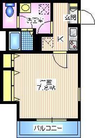上永谷駅 徒歩10分2階Fの間取り画像