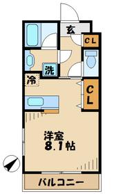モルジュ3階Fの間取り画像