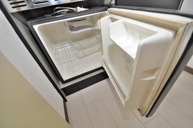 リーゾタナカ ミニ冷蔵庫付いてます。単身の方には十分な大きさです。