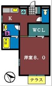 K・Sリバレッジ1階Fの間取り画像