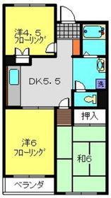 アローエスタ3階Fの間取り画像