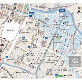 パークアクシス日本橋兜町案内図