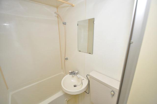 アリーヴェデルチ小阪 可愛いいサイズの洗面台ですが、機能性はすごいんですよ。