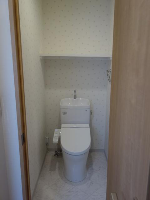 フラワーガーデン東十条トイレ