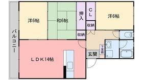 阿部第1ビル1階Fの間取り画像