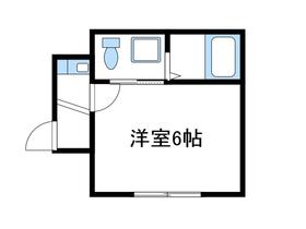 エレナ相武台下2階Fの間取り画像