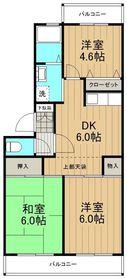 グリーンヒル湘南2階Fの間取り画像