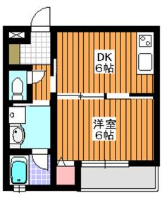 プランドゥボヌール1階Fの間取り画像