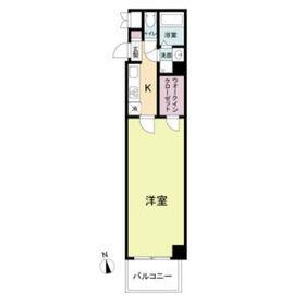 La Douceur心斎橋(旧 COMODA CASA)10階Fの間取り画像
