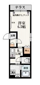 (仮称)大塚6丁目メゾン1階Fの間取り画像