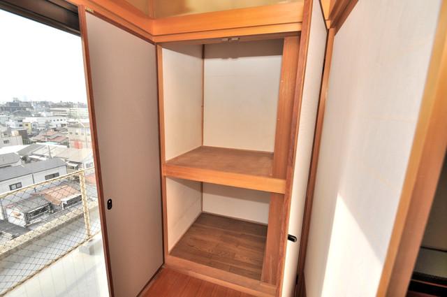 アドバンス渋川 ペントハウス もちろん収納スペースも確保。おかげでお部屋の中がスッキリ。