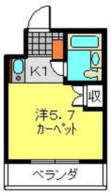TOP桜木町第23階Fの間取り画像