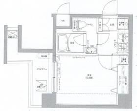 リクレイシア西横浜2階Fの間取り画像