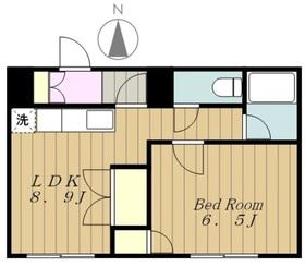 ルミネール第51階Fの間取り画像