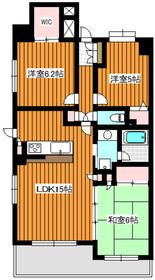 サクセス西高島平2階Fの間取り画像