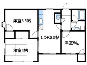 オークレスト相武台1階Fの間取り画像