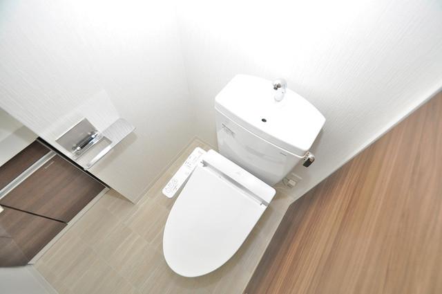 PARK HILLS 北巽 felice 清潔感のある爽やかなトイレ。誰もがリラックスできる空間です。
