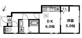 ソルヴァイ1階Fの間取り画像