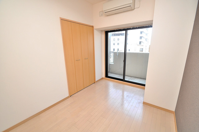 CITY SPIRE布施(ラグゼ布施) 陽当りの良いベッドルームは癒される心地良い空間です。