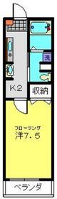 ルミエールマツダ1階Fの間取り画像