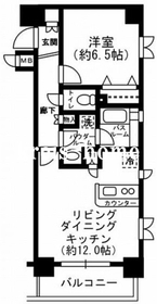 レジディア神田東3階Fの間取り画像