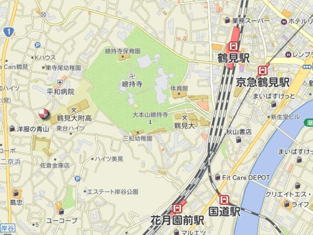 コーポ金井案内図