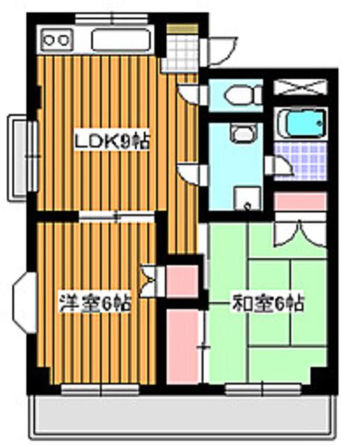 下赤塚駅 徒歩15分間取図