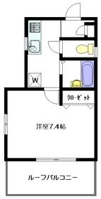Via Mite3階Fの間取り画像