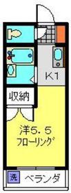 S-FLAT2階Fの間取り画像