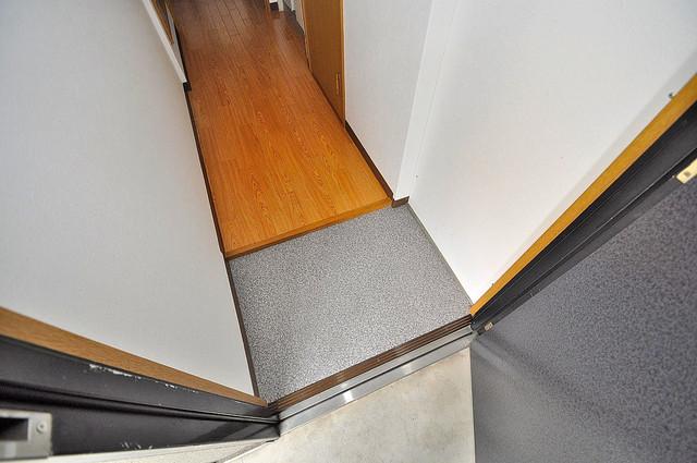 オーナーズマンション菱屋西 素敵な玄関は毎朝あなたを元気に送りだしてくれますよ。