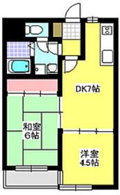 ルミエール西高島平4階Fの間取り画像