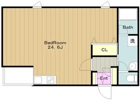 ライトウェル青戸3階Fの間取り画像