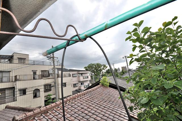 冨永コーポ この見晴らしが陽当たりのイイお部屋を作ってます。