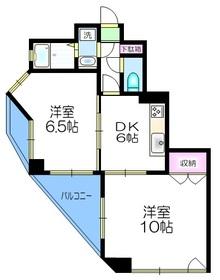 メディカルパレス4階Fの間取り画像