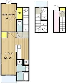 ヴィラ・セナーレ3階Fの間取り画像
