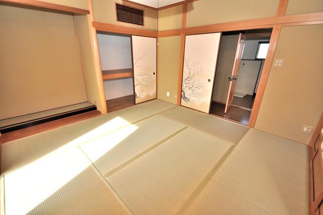 アドバンス渋川 ペントハウス もう一つの癒しの空間。和室です。