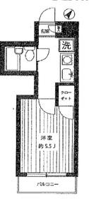 ネオハウス日吉4階Fの間取り画像