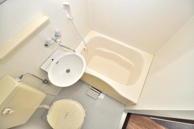 ライフステージ今里 シャワー一つで水回りが掃除できて楽チンです