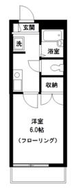 メゾンドセラヴィ1階Fの間取り画像