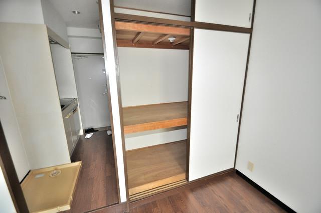 レスポワール もちろん収納スペースも確保。いたれりつくせりのお部屋です。