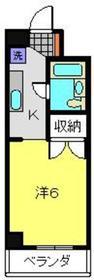 パレ白楽4階Fの間取り画像